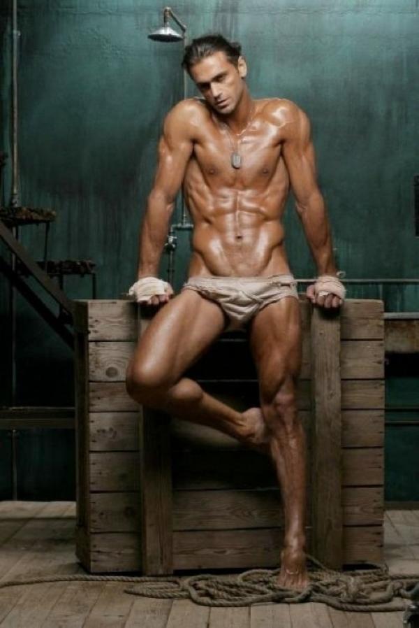 naked male greek body