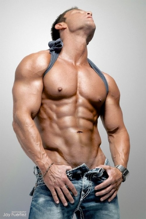 body building gay male