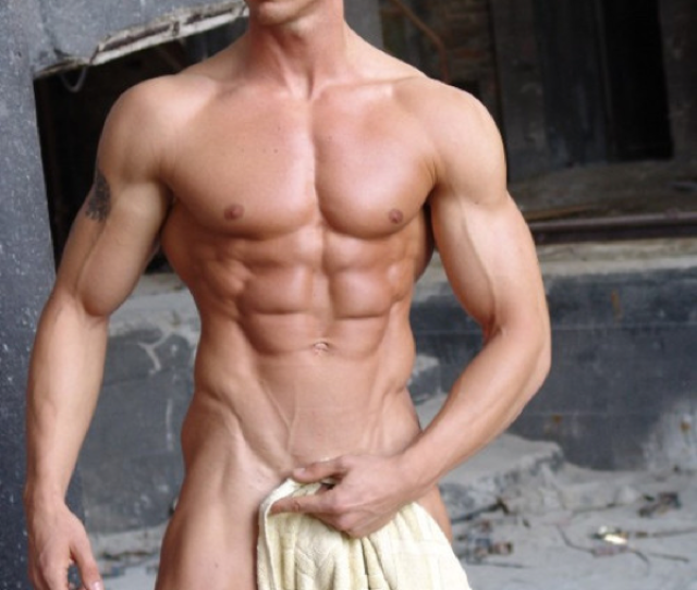 Nude Dude With Towel