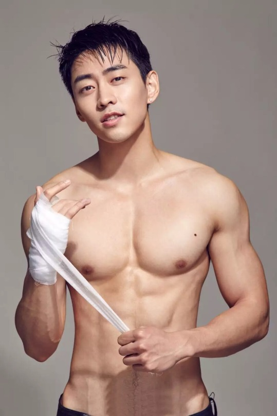 Asian men are fit and sexy, too
